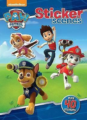 Nickelodeon Paw Patrol Sticker Scenes by Parragon Books 9781474837095 FREE P/P