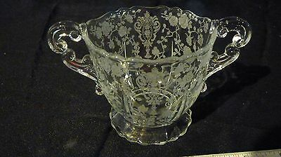 Cambridge Rosepoint Clear Open Sugar Bowl