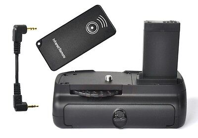 Vertical-Battery-Grip-For-Canon-EOS-100D-Rebel-SL1-Kiss-X7-EOS-M-IR-Remote