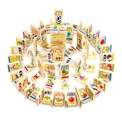 New Chinese Characters Domino Children's Educational Product Smooth Surface and