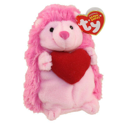 TY Beanie Baby - SMITTEN the Pink Porcupine (5.5 inch) -MWMTs Stuffed Animal Toy