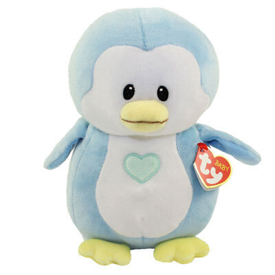 Baby TY - TWINKLES the Blue Penguin (Medium Size - 7.5 inch) - New BabyTy
