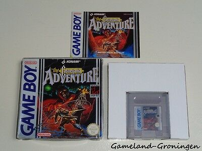 Nintendo Gameboy Game: The Castlevania Adventure [PAL] (Complete) [SCN]