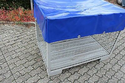 Cover For Grid Box with Eyelets from Original Truck Trailer 680 gr/m ²