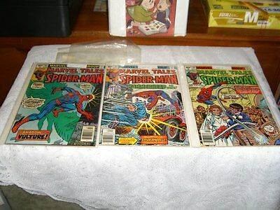 Amazing Spider Man Spiderman Marvel Tales 10 Comic Lot FN/NM See List LOT 17