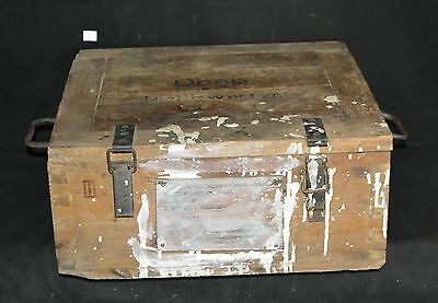 ThriftCHI ~ Vintage Dovetailed German Shipping Crate Phila., PA