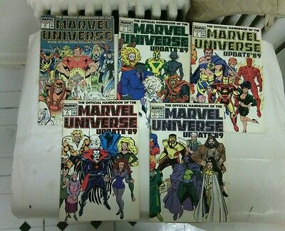Marvel Universe Book of the Dead and Marvel Universe update 89