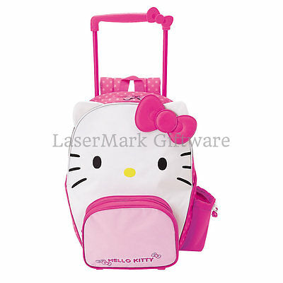 Hello Kitty Rolling Luggage BackPack