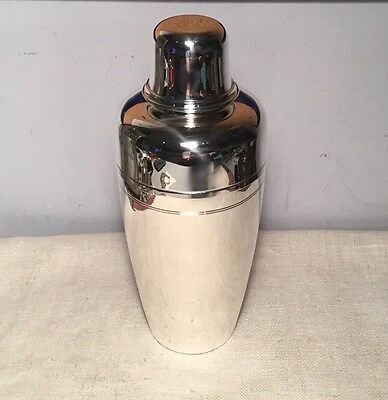 Tiffany & Co. Antique Sterling Silver Large Heavy Cocktail Shaker 20toz