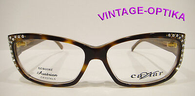 "Caviar 6172 Eyeglasses Tortoise Brown (16) Crystal Stones New  ""on Sale"""