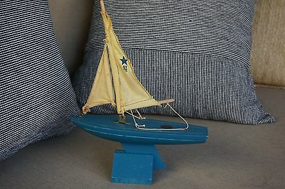 Birkenhead Star Yacht Toy Sail Boat Made in England