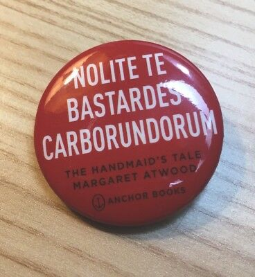 SDCC 2017 Exclusive Handmaid's Tale Margaret Atwood Button