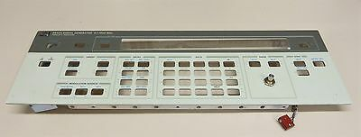 HP 8642A FRONT PANEL with knob , part of the signal generator