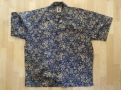 Vintage 1980's Mens Tori Richard Shirt Size XL