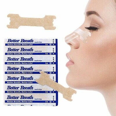 100+2 *free* Better Breath Nasal Strips Reg Or Large * Right Aid To Stop Snoring