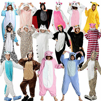 Unisex Adult Onesies Kigurumi Pajamas Anime Cosplay7Costumi Sleepwear Halloweens
