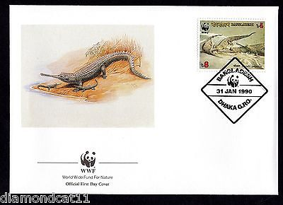 1990 FDC 31/1/90 Endangered Wildlife SG342 FINE USED  R27514