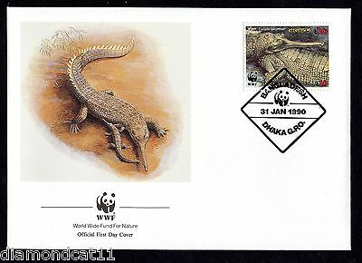 1990 FDC 31/1/90 Endangered Wildlife SG343 FINE USED  R27515