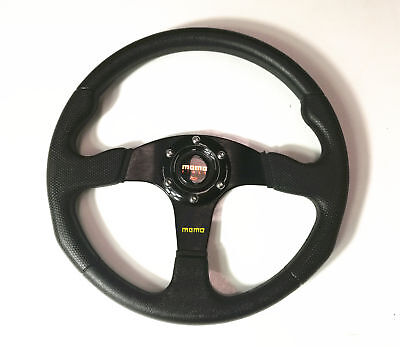 14 inch Steering Wheel Go-karts Buggy Project Universal 6 Bolts with horn button