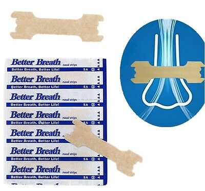 Better Breath- Breathe easier with nasal strips- Nose plasters- stop anti snore