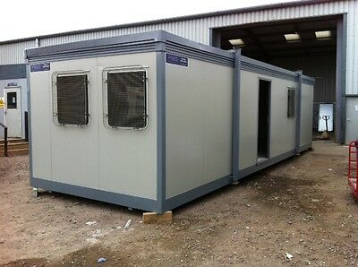 Good condition Portable Cabin Site Office Building Jackleg Cabin Steel cladded