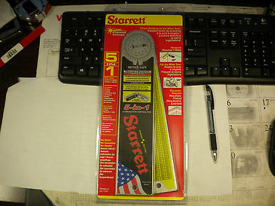 "Starrett Aluminium Combination Protractor 12"" Cp505A-12"