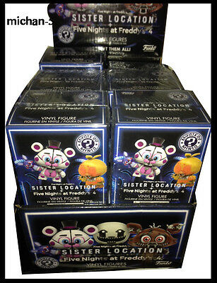 Fnaf sister location mystery blind bag figure box exclusive