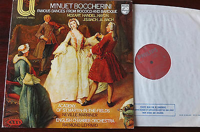 Philips 6580 098 Famous Dances From Rococo & Baroque Lp Marriner Nm England