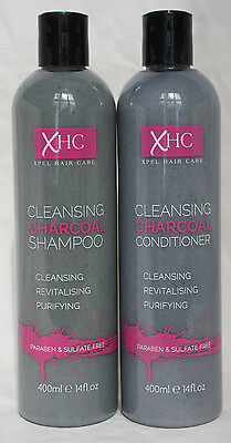 Charcoal Shampoo & Condition - 400Ml each Cleansing/Revitalising/Purifying