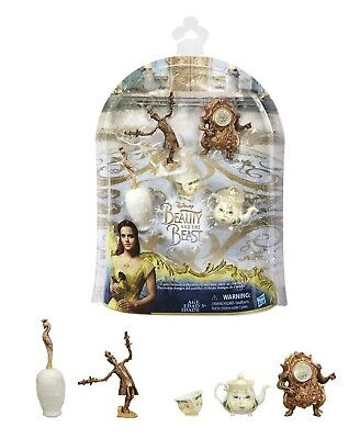 Disney Beauty and The Beast Belle Castle Friends Collection chip Potts Lumiere