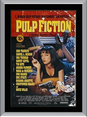 Pulp Fiction Movie  A1 To A4 Size Poster Prints