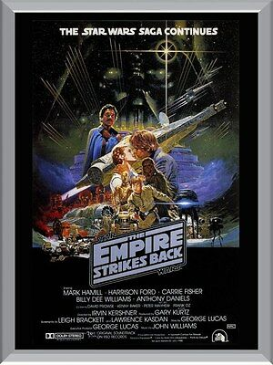 Star Wars The Empire Strikes Back Movie A1 To A4 Size Poster Prints