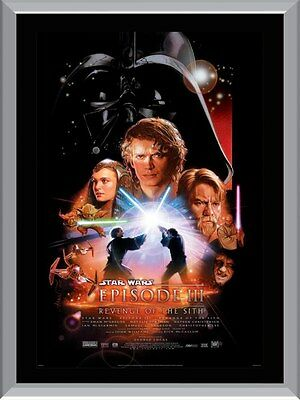 Star Wars Revenge of the Sith Movie A1 To A4 Size Poster Prints