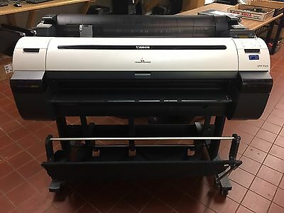 Canon ImagePROGRAF IPF750 Wide Format Printer - TESTED WORKING