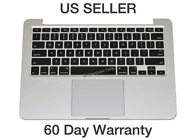 """Apple MacBook Pro 13"""" A1502 2015 Top Case w/ Keyboard and Battery 661-02361 B"""