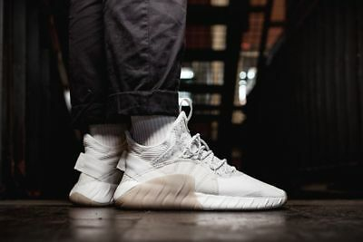 premium selection 60fa0 af376 Adidas Originals Tubular Rise White Off White Mens Sneakers Lifestyle BY3555