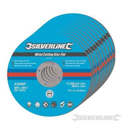 Pack Of 5 Angle Grinder Thin Metal Cutting Cut Off Discs 115mm or 230mm 2mm