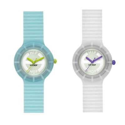 Orologio HIP HOP GLOWING IN THE DARK Small 32mm Fluorescente Colorato Uomo Donna