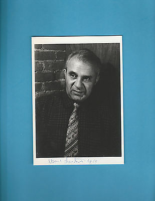 Wassily Leontief (Nobel Prize Economics 1973) Signed Photograph