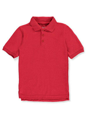 Classic School Uniform Little Boys' Toddler S/S Pique Polo Shirt (Sizes 2T - 4T