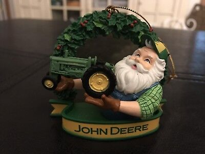 John Deere Christmas Ornament