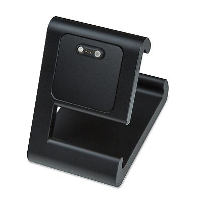 TimeDock BLACK Charging Dock for Pebble Time, Time Round, Time Steel, Pebble 2