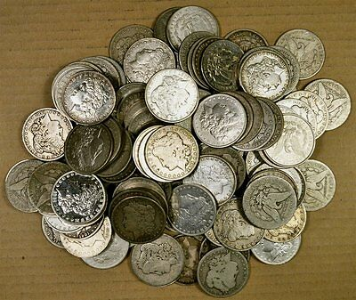 20 Cull Pre 1921 (1878-1904) Morgan Silver Dollars - Free Priority Mail Shipping