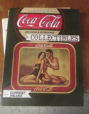 Used 1991 Goldstein's Coca-Cola Collectibles Price Guide Paperback         *