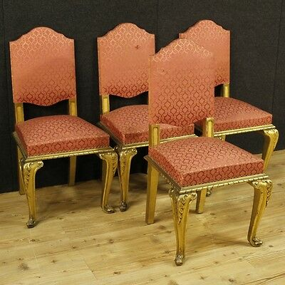 4 chairs golden furniture armchairs set group living room antique style 900