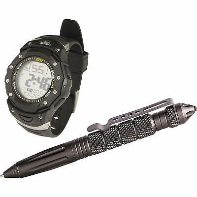 Tactical Pen and Watch