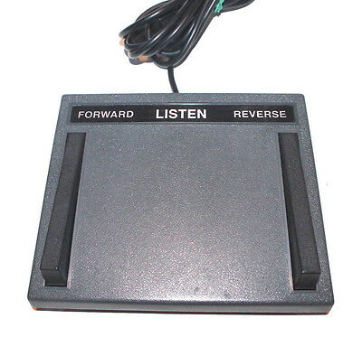 Lanier LX-055-7 Transcription Foot Pedal Foot Switch Control 7-Pin