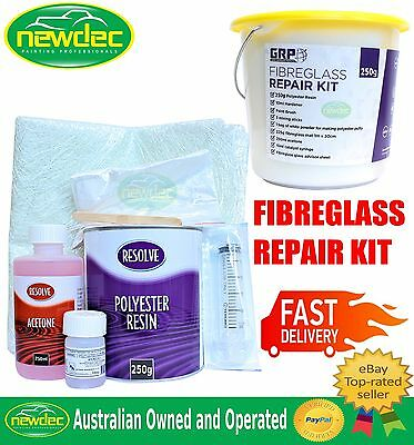 FIBREGLASS REPAIR KIT FOR AUTOMOTIVE MARINE PANEL BODY KITS REPAIR MAT 250g