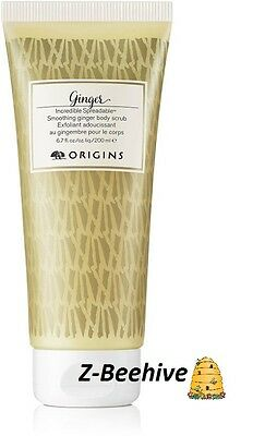Origins GINGER Incredible Spreadable Smoothing Ginger Body Scrub 6.7 oz. New
