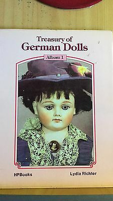 Treasury Of German Dolls Album 1 By Lydia Richter- Hard Cover Beautiful Photos